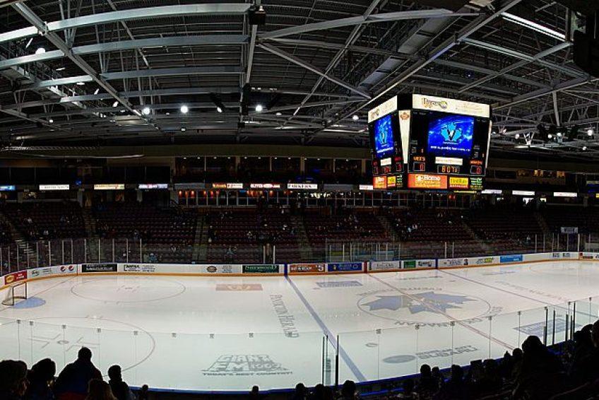 South Okanagan Events Centre   Credit: Darren Kirby CC BY-SA 2.0 Wikimedia