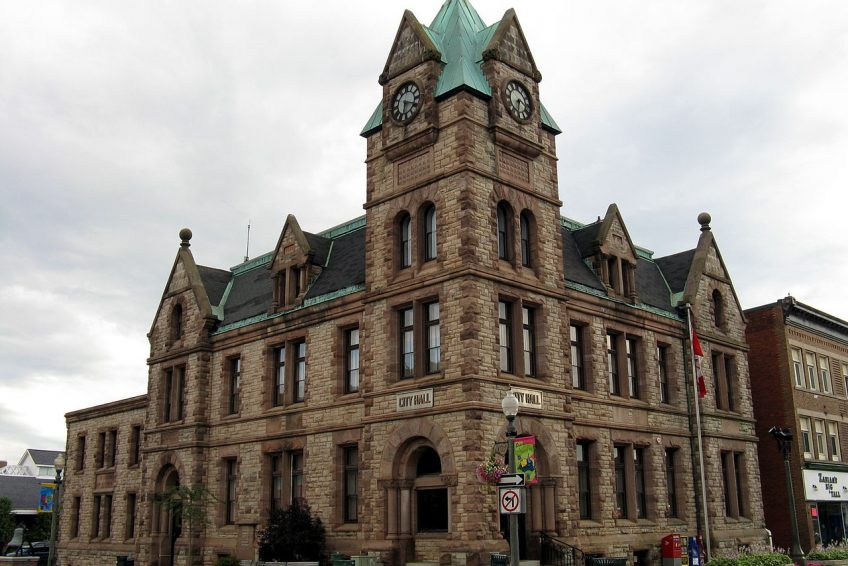 City Hall and Former Post Office built in 1901