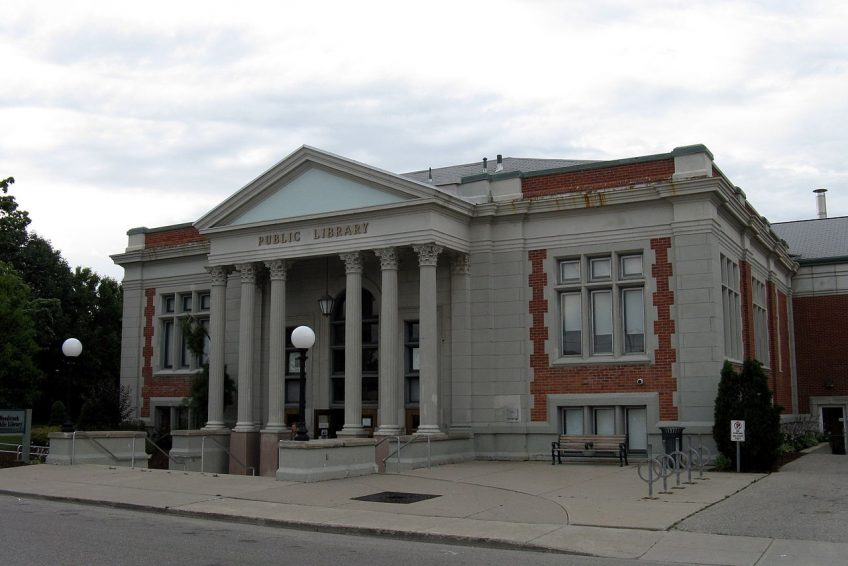 Public Library built in 1909