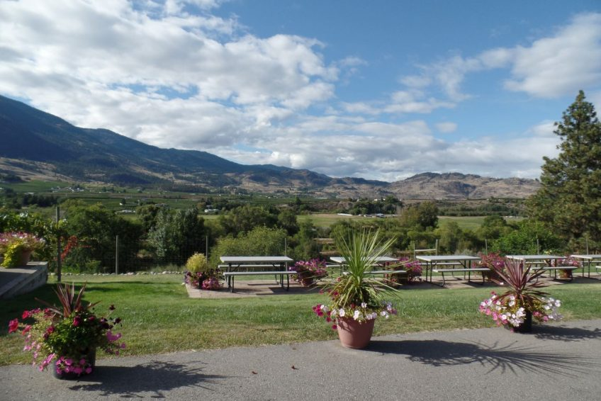 Okanagan Valley wine country south of Penticton