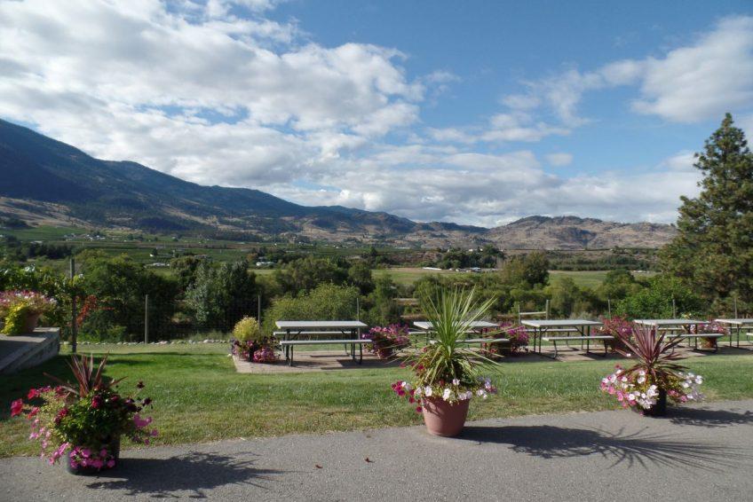 Okanagan Valley wine country south of Penticton