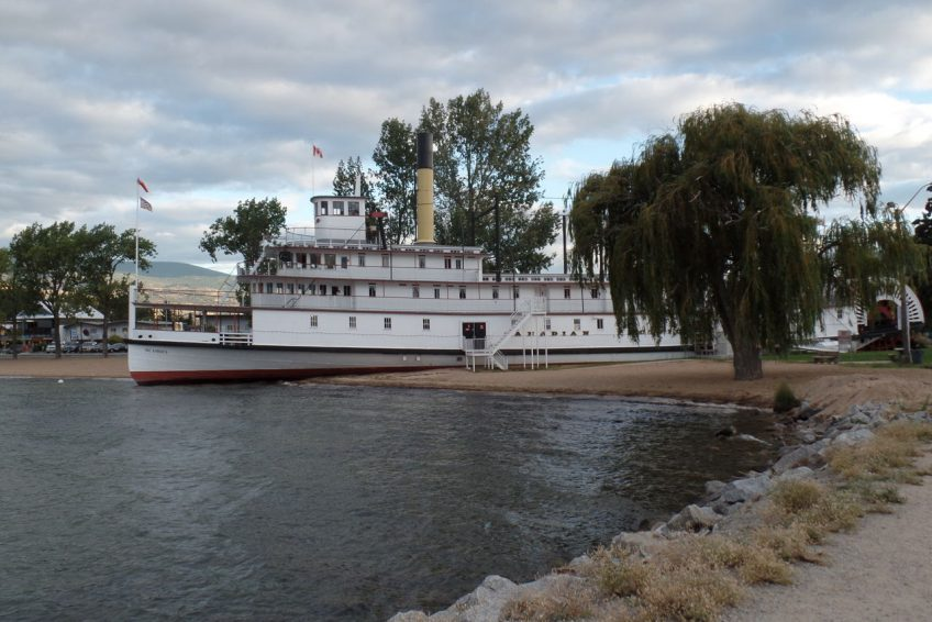 SS. Sicamous steamwheeler and museum