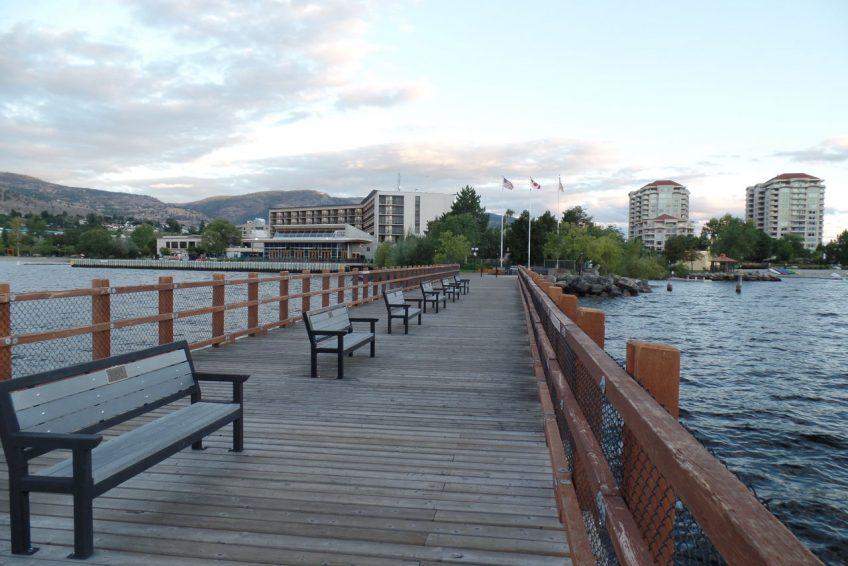 Kiwanis Walking Pier on Okanagan Lake