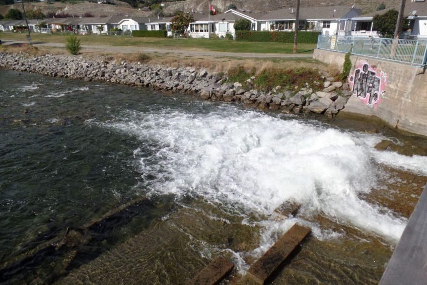 Inlet to the Okanagan River