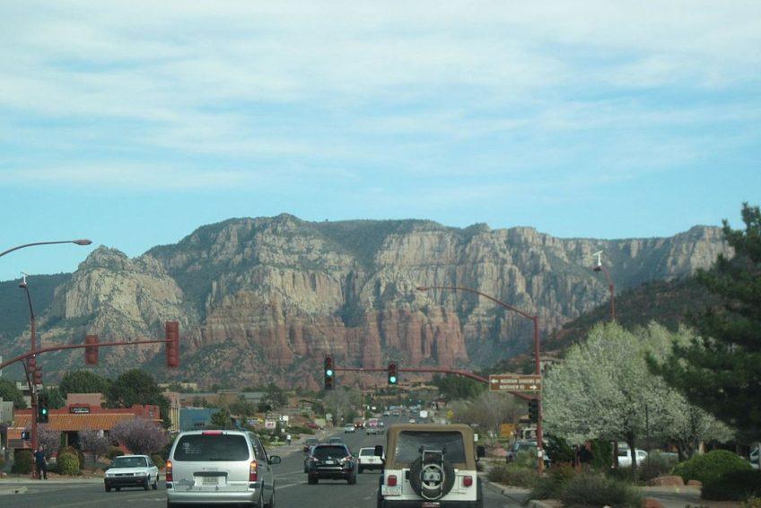 Driving into town | Credit: Anita Walz CC BY-SA 4.0 Wikimedia