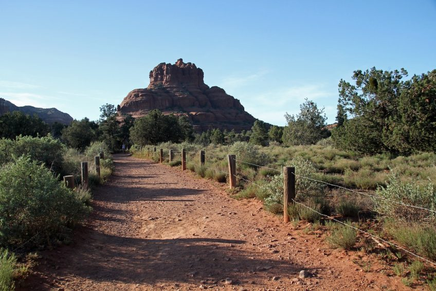 Pathway to Bell Rock