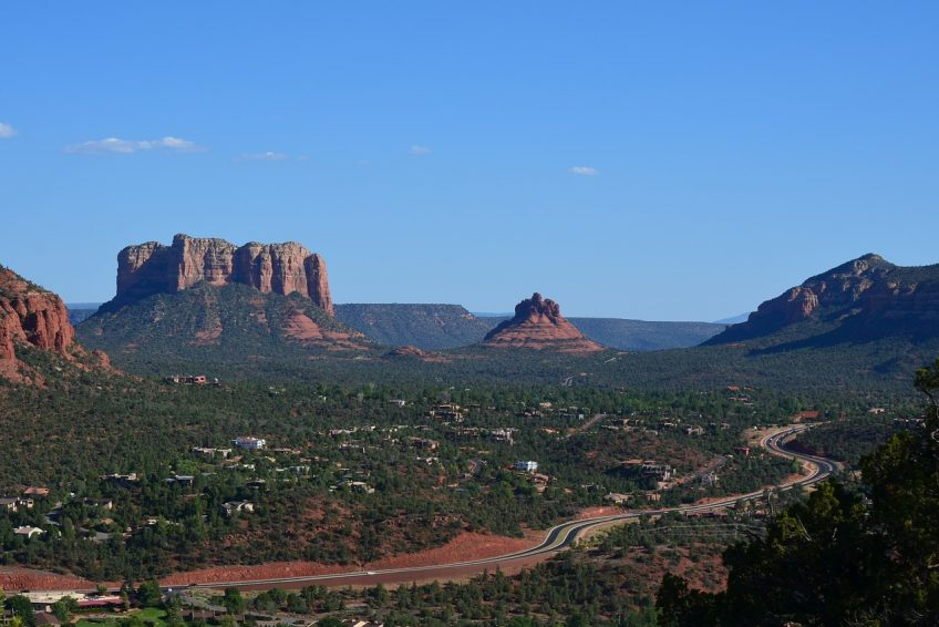 Overlooking beautiful Sedona