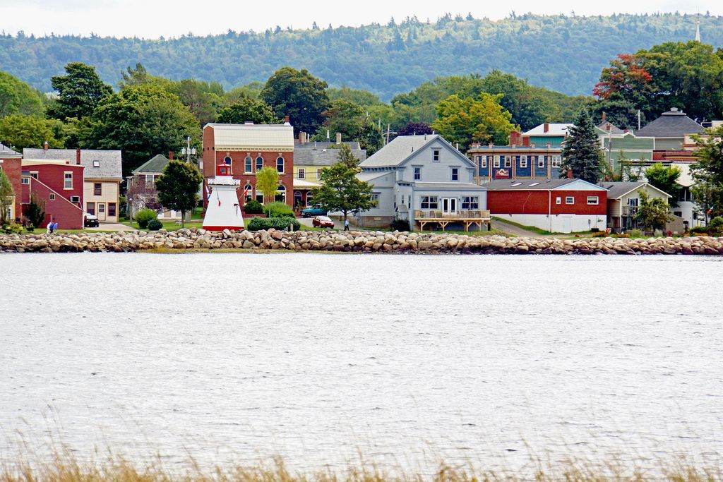 Annapolis Royal Lighthouse in Nova Scotia