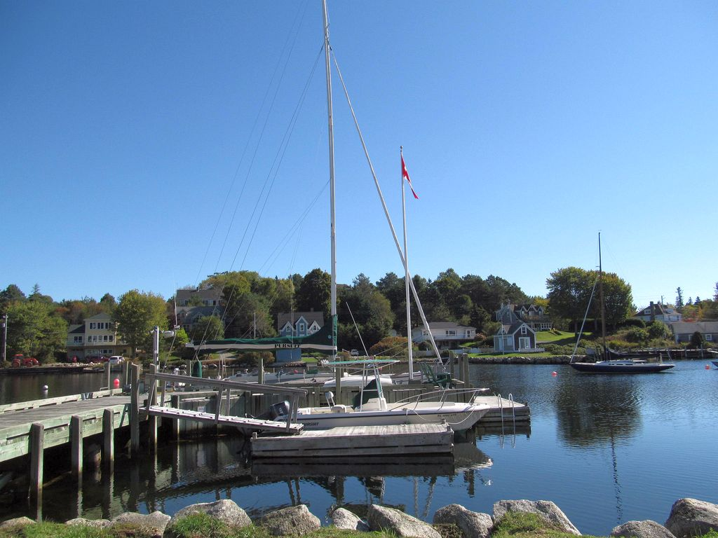 Harbour in Chester Nova Scotia