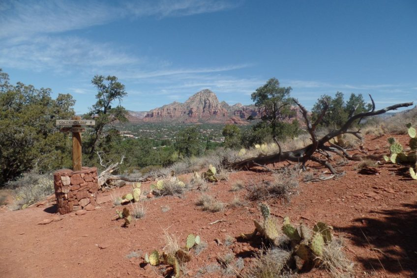Coconino loop trail is one of several easy trails hikinglocated near the Airport Vortex