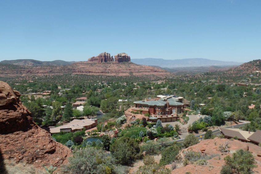 View of Sedona from the Chapel of the Holy Cross