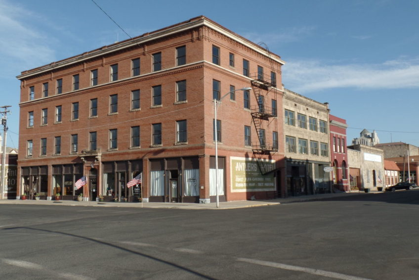 Historic Antlers Hotel Building in Baker City