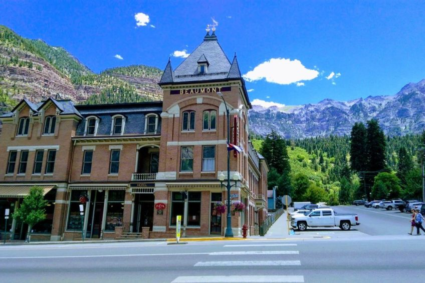 Beaumont Hotel in Ouray Colorado
