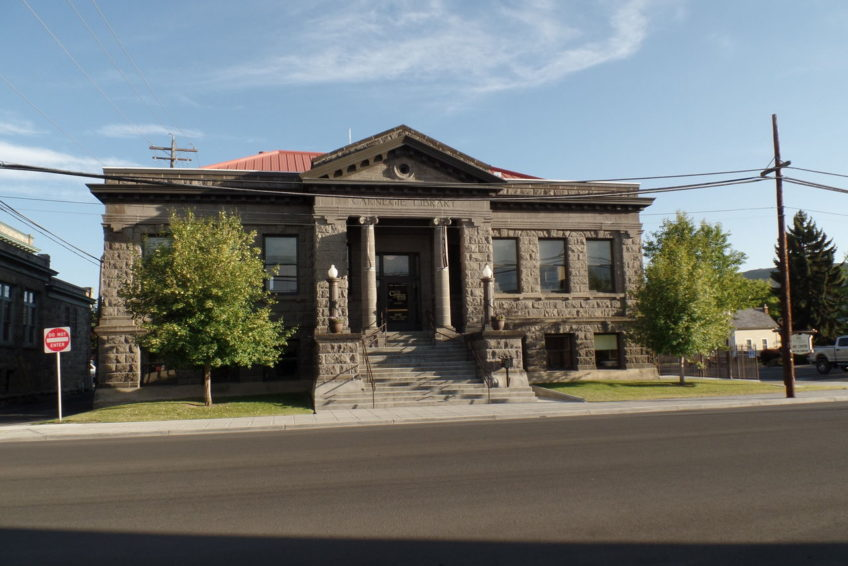 Carnegie Library Building in Baker City