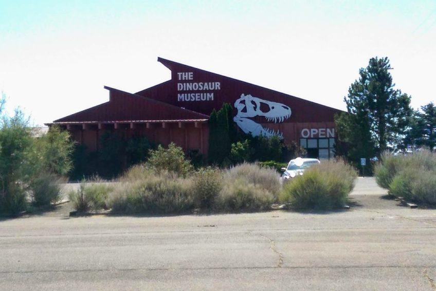 The Dinosuar Museum in Blanding Utah