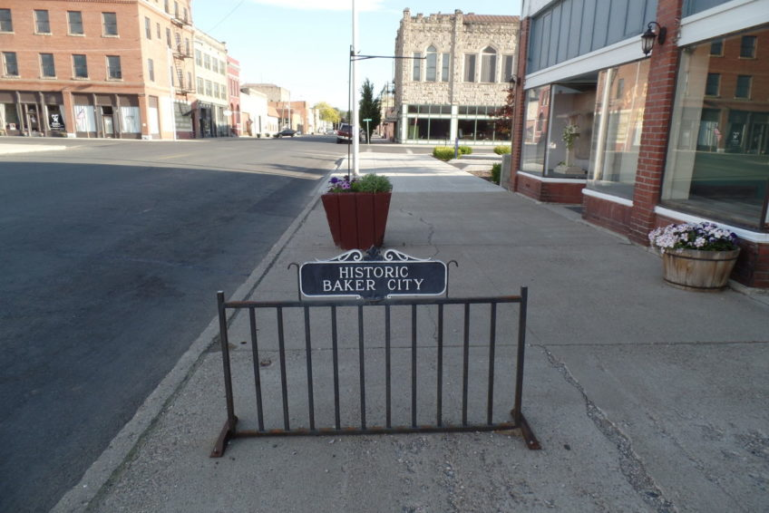 Historic Baker City Bike Rack