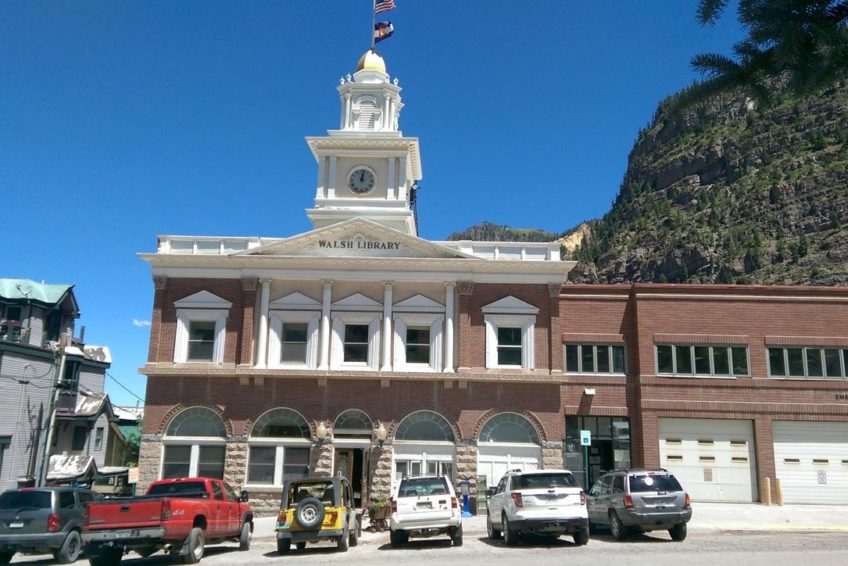 Historic Ouray City Hall and Walsh Library