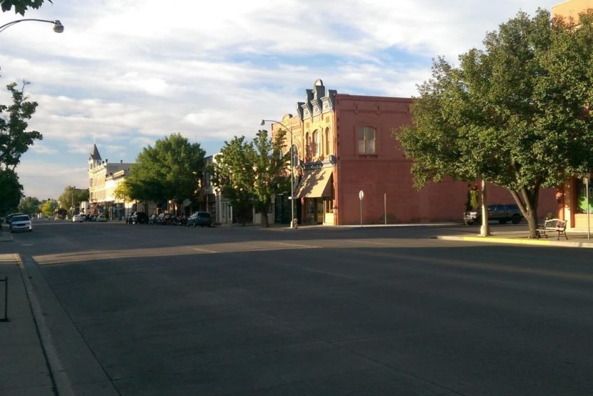 Looking North on Main Street in Baker City