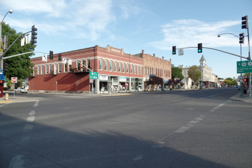 Looking South on Main Street in Baker City