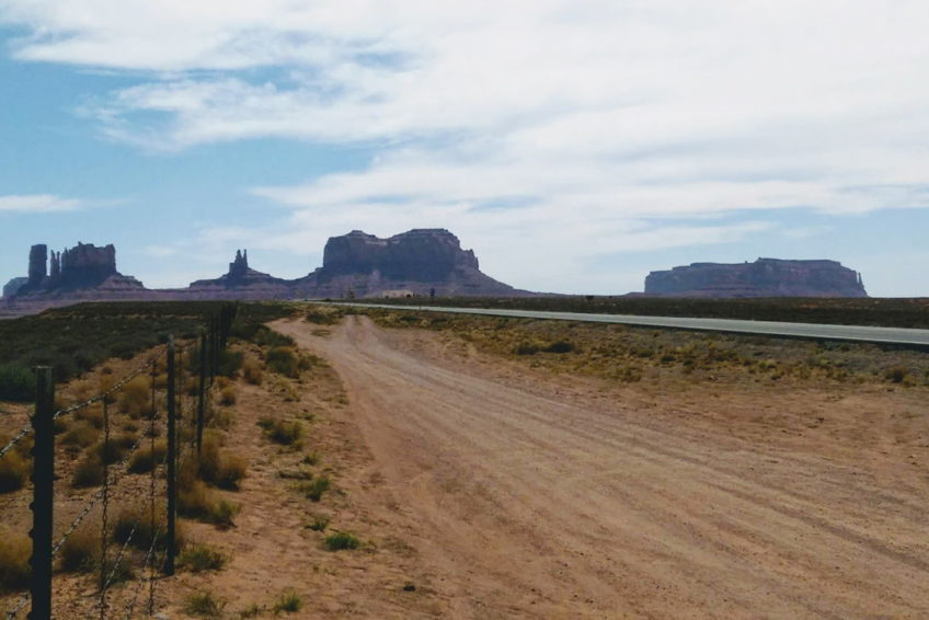 Monument Valley southwest of Blanding