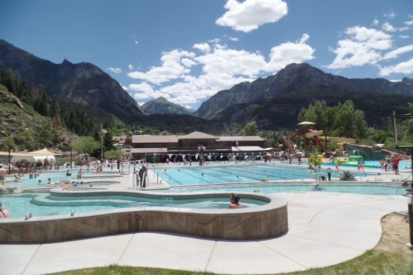 Hot Springs Pool in Ouray Colorado