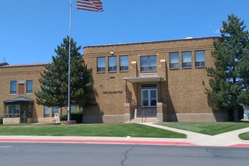 San Juan High School in Blanding Utah