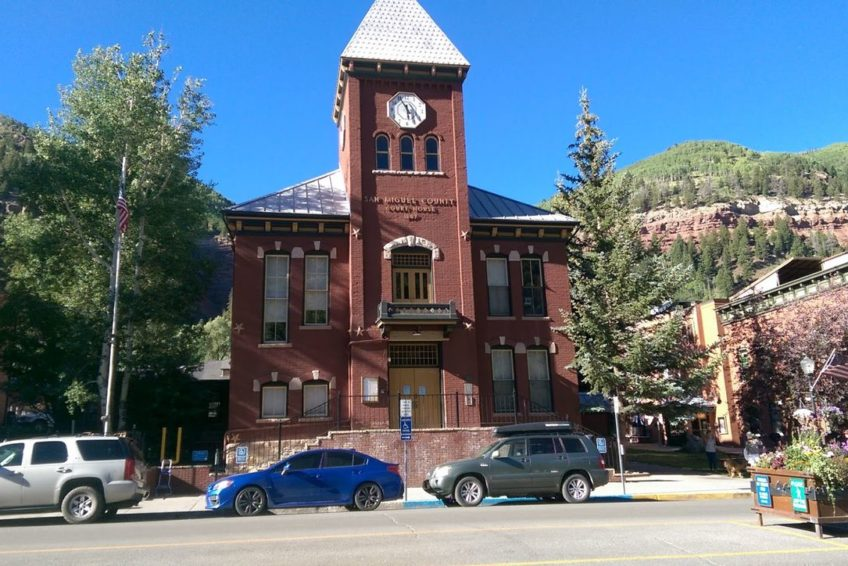 San Miguel County Court House in Telluride