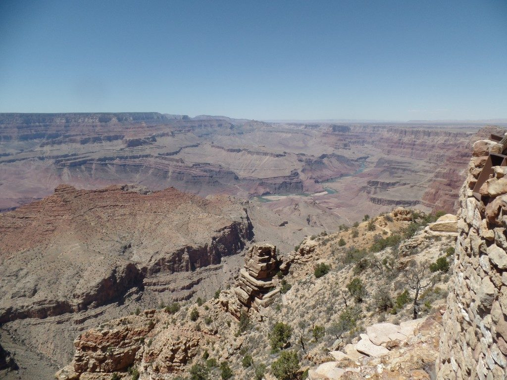 Grand Canyon from the Desert View Lookout