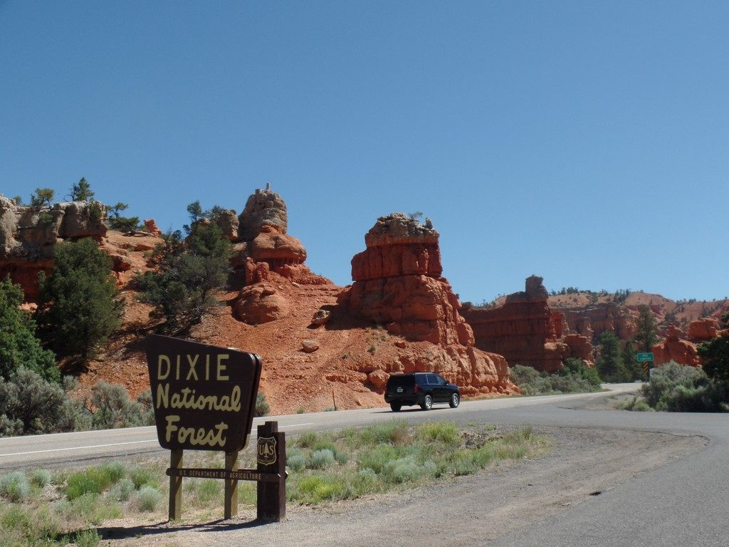 Hoodoos in the Dixie National Forest