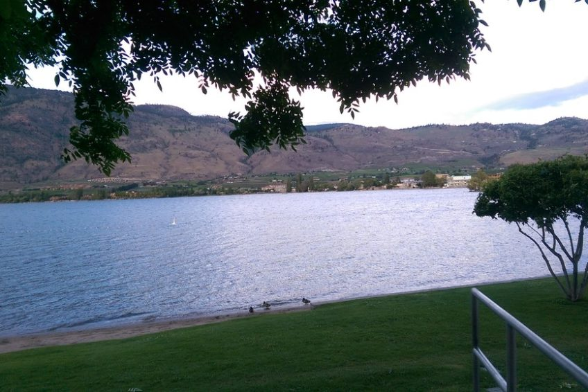 Osoyoos Lake from Gyro Park