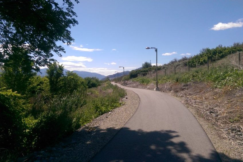 The Canal Walkway in Osoyoos