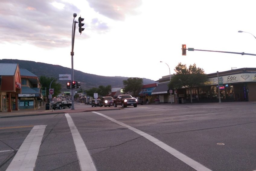 Main Street in Osoyoos