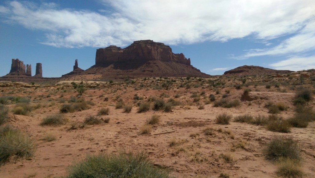 Sandstone Buttes of Monument Valley