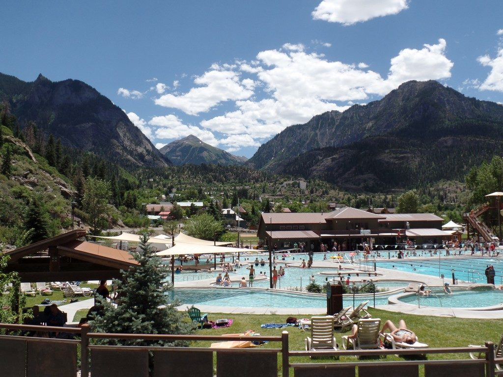 Ouray Hotsprings Pool in Fellin Park