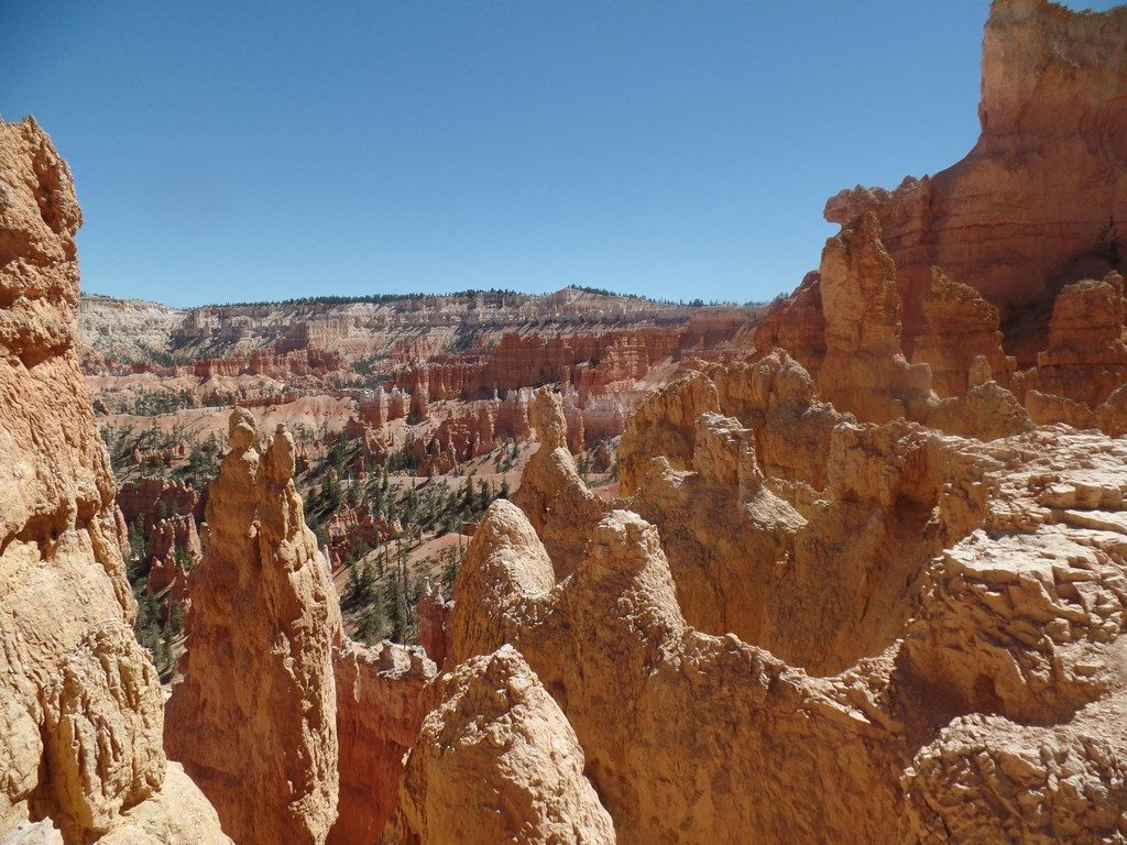View from Queens Garden Trail in Bryce Canyon