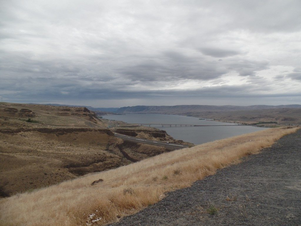 View of the Columbia River from Wild Horse Lookout